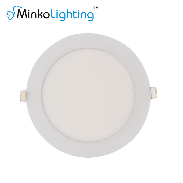 LED RECESSED PANEL LIGHT ROUND 3W/4W/6W/9W/12W/15W/18W/24W