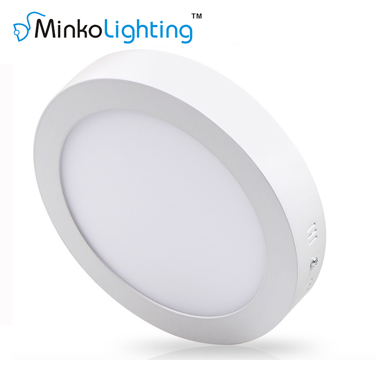 LED SURFACE MOUNTED PANEL LIGHT ROUND 6W/12W/18W/24W