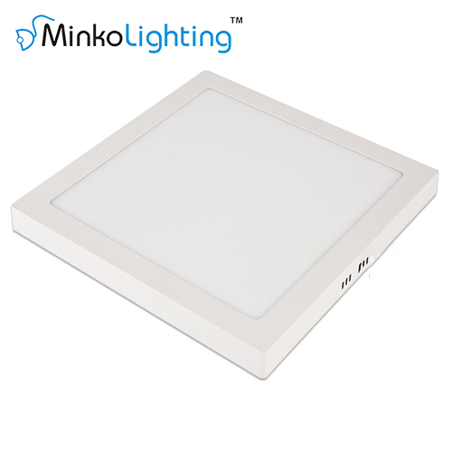 LED SURFACE MOUNTED PANEL LIGHT SQUARE 3W/6W/12W/18W/24W