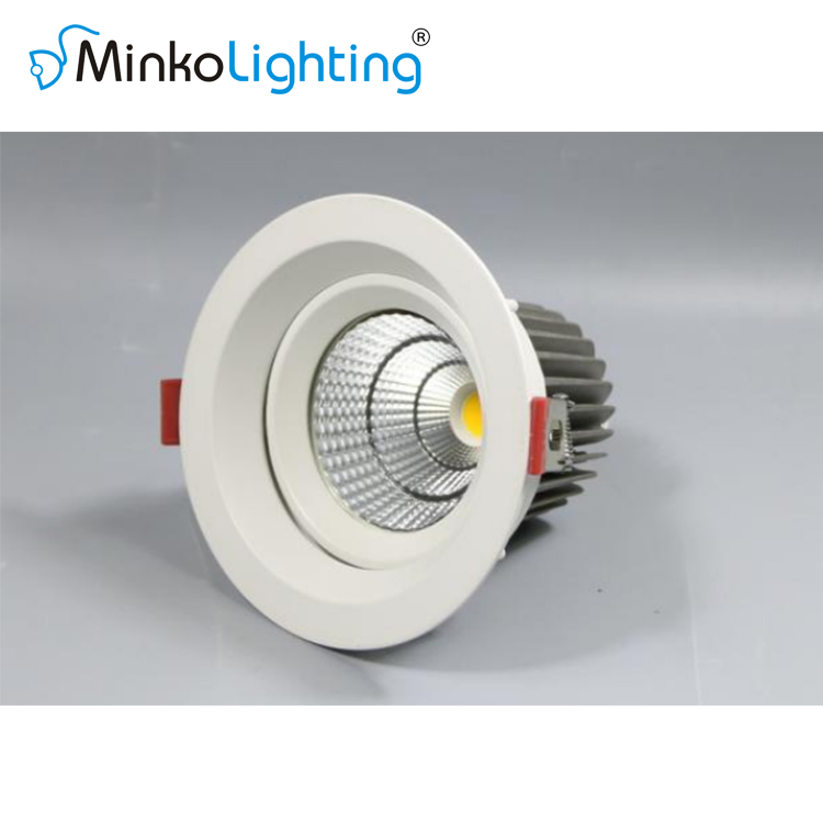 LED RECESSED DOWNLIGHT UGR<19 BEAM ANGLE ADJUSTABLE D3R SERIES